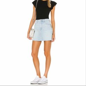 Frame Le mini skirt cargo mix in Canterburry